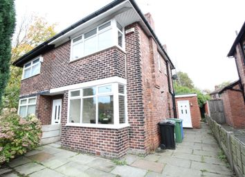 Thumbnail 2 bed semi-detached house to rent in Old Hall Road, Stretford, Manchester