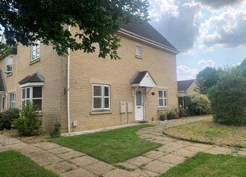 Thumbnail 4 bed end terrace house for sale in Ermine Street North, Papworth Everard, Cambridge