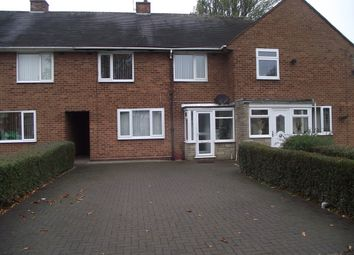 Thumbnail 3 bed terraced house to rent in Packington Avenue, Shard End, Birmingham
