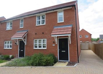 Thumbnail 2 bedroom semi-detached house for sale in Hawthorn Garden, Harwell, Didcot