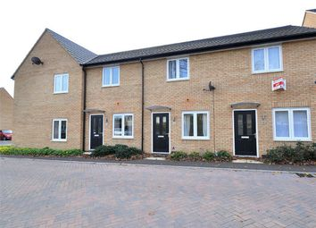 Thumbnail 2 bedroom terraced house for sale in Lilyfield Crescent, Huntingdon, Cambridgeshire