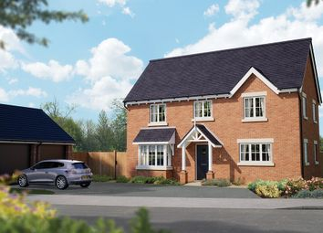 "Thumbnail 4 bed detached house for sale in ""The Montpellier"" at Crewe Road, Haslington, Crewe"