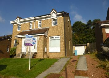 Thumbnail 2 bed semi-detached house for sale in Strathspey Crescent, The Rushes, Airdrie