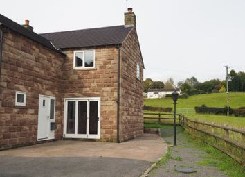 Thumbnail 3 bed property to rent in Chapel Lane, Threapwood, Cheadle, Stoke-On-Trent