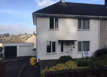 Thumbnail 3 bed semi-detached house to rent in Wolverwood Lane, Plympton, Plymouth