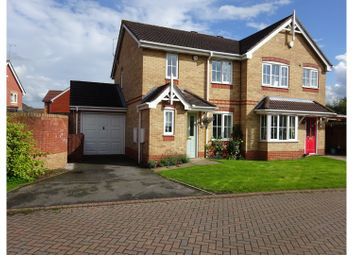Thumbnail 3 bed semi-detached house for sale in Goldfinch Drive, Alsager