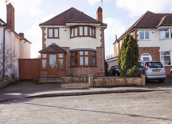 Thumbnail 4 bedroom detached house for sale in Blaby Road, Enderby, Leicester