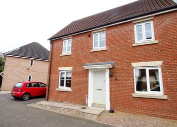 Thumbnail 3 bedroom town house for sale in Burdock Close, Wymondham