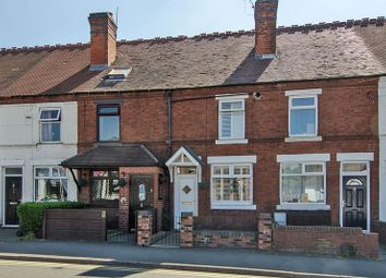 Thumbnail 3 bed terraced house for sale in Cannock Road, Cannock