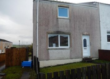 Thumbnail 2 bed end terrace house to rent in Hunters Way, Kirkmuirhill, Lanark