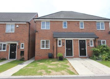Thumbnail 3 bed semi-detached house for sale in Indigo Drive, Burbage, Hinckley