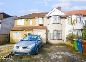 Thumbnail 3 bed terraced house for sale in Somervell Road, Harrow, Greater London