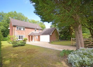 Thumbnail 4 bed detached house for sale in Furze Hill Road, Headley Down, Bordon
