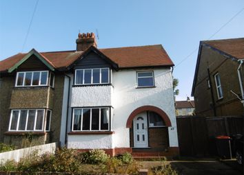 3 bed semi-detached house to rent in Downs Park, Herne Bay, Kent CT6