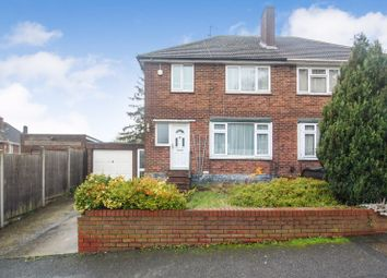 Thumbnail 3 bed semi-detached house for sale in Rossfold Road, Luton