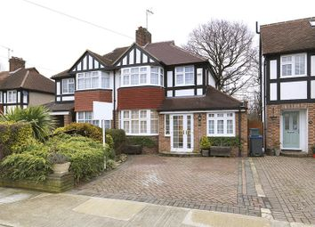 Thumbnail 4 bedroom semi-detached house for sale in Bargate Close, New Malden