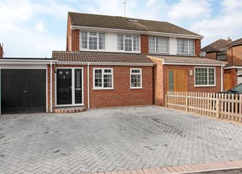 Thumbnail 3 bed semi-detached house for sale in Andermans, Windsor, Berkshire