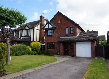 Thumbnail 3 bed detached house for sale in Sandicroft Close, Warrington