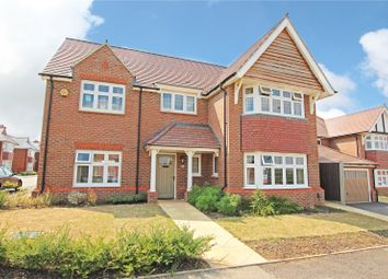 Thumbnail 4 bed detached house for sale in Barlow Road Off Bryony Road, Hamilton, Leicester