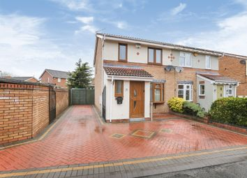 Thumbnail 3 bed semi-detached house for sale in Church Green, Bilston