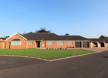 Thumbnail 4 bed detached bungalow for sale in Grange Farm, Main Road, Filby, Great Yarmouth