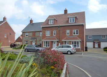 Thumbnail 4 bedroom end terrace house to rent in Osborne Way, Bognor Regis
