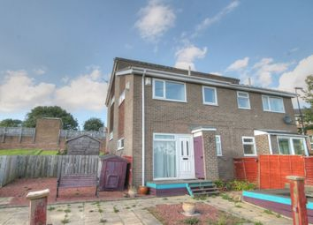 Thumbnail 1 bed terraced house for sale in Ellington Close, West Denton Park, Newcastle Upon Tyne