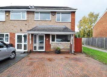 Thumbnail 3 bed semi-detached house to rent in Moat Farm Drive, Bartley Green, Birmingham