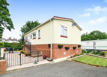 Thumbnail 2 bed mobile/park home for sale in Avon Riverside Park, Pershore Road, Evesham