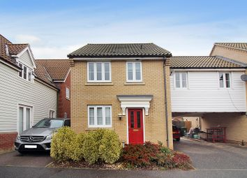 Thumbnail 3 bed link-detached house for sale in Dolphin Road, Norwich
