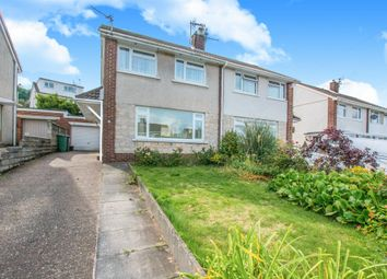 Thumbnail 3 bed semi-detached house for sale in Thornhill Road, Upper Cwmbran, Cwmbran