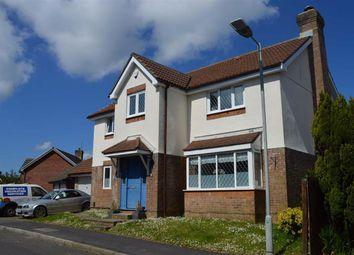 Thumbnail 4 bed detached house for sale in Ffordd Draenen Ddu, West Cross, Swansea