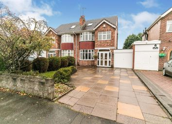 Thumbnail 4 bed semi-detached house for sale in Keswick Road, Solihull