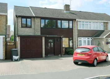 Thumbnail 5 bed semi-detached house for sale in Gilmore Way, Great Baddow, Chelmsford