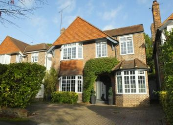 Thumbnail 4 bed detached house for sale in Common Close, Horsell, Woking