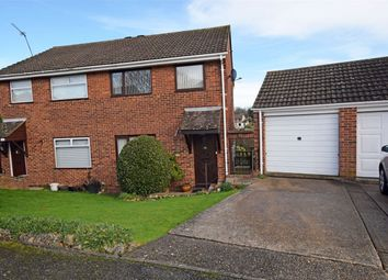 Thumbnail 3 bedroom semi-detached house for sale in Cedar Grove, Hempstead, Gillingham, Kent
