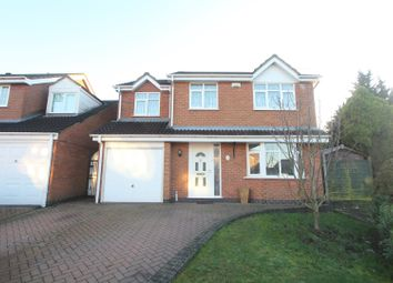 Thumbnail 4 bed detached house for sale in Raleigh Close, Hinckley