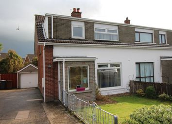 Thumbnail 3 bed semi-detached house for sale in Cesnor Park, Carrickfergus