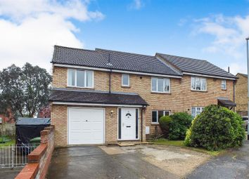 Thumbnail 4 bed semi-detached house for sale in Peer Road, Eaton Socon, St. Neots