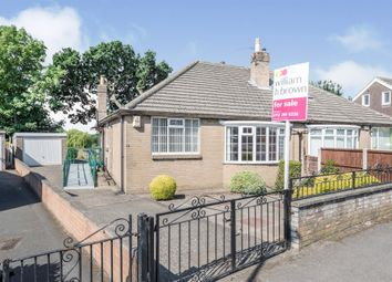 Thumbnail 2 bed semi-detached bungalow for sale in Carr Manor Crescent, Meanwood, Leeds