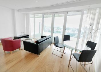 Thumbnail 2 bed flat to rent in Arena Tower, 25 Crossharbour, Canary Wharf, London