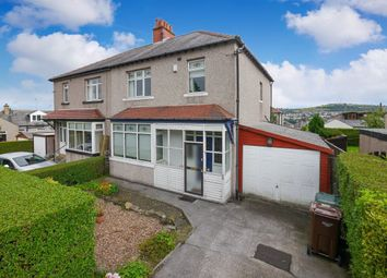 Thumbnail 3 bed semi-detached house for sale in Temple Rhydding Drive, Baildon, Shipley