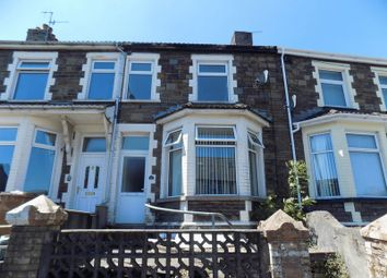 Thumbnail 3 bed terraced house to rent in Park Place, Gilfach, Bargoed