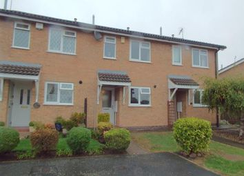 Thumbnail 2 bed terraced house for sale in Forryans Close, Wigston, Leicester, Leicestershire