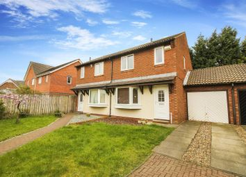 Thumbnail 3 bed semi-detached house for sale in Fairfield, Longbenton, Newcastle Upon Tyne