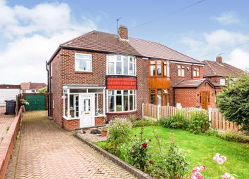 Thumbnail 3 bed semi-detached house for sale in Bent Lathes Avenue, Rotherham