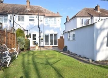 Thumbnail 3 bed semi-detached house to rent in Hillcross Avenue, Morden