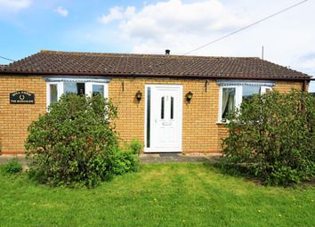 Thumbnail 3 bed detached bungalow for sale in Mill Lane, Wisbech, Cambridgeshire