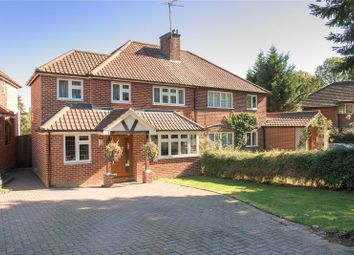 Thumbnail 4 bed semi-detached house for sale in Langdale Avenue, Harpenden, Hertfordshire