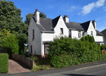 Thumbnail 3 bed semi-detached house for sale in Baldwin Avenue, Knightswood, Glasgow